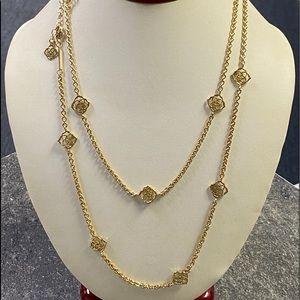 """Kendra Scott 40"""" Gold Devalyn Chain Necklace"""